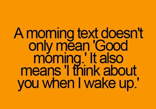 Best Good Morning texts for her, girlfriend, wife
