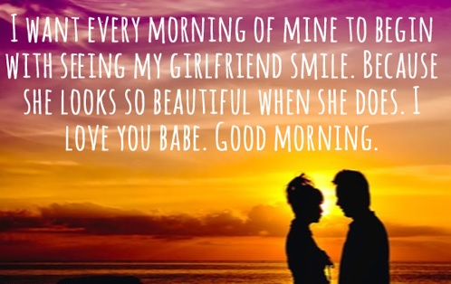 good-morning-messages-for-girlfriend images
