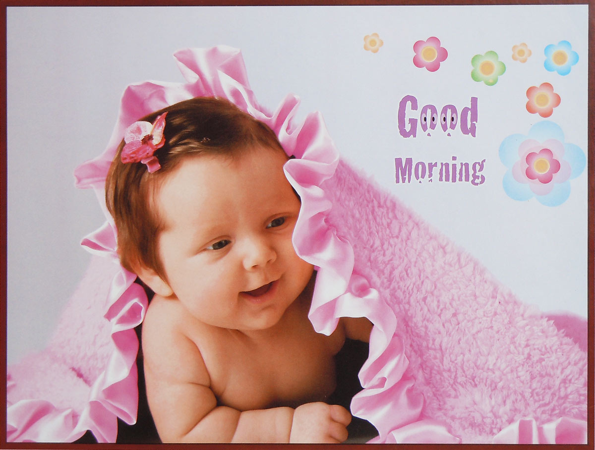 baby good morning images pictures