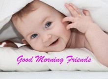 Cute good morning baby images pictures
