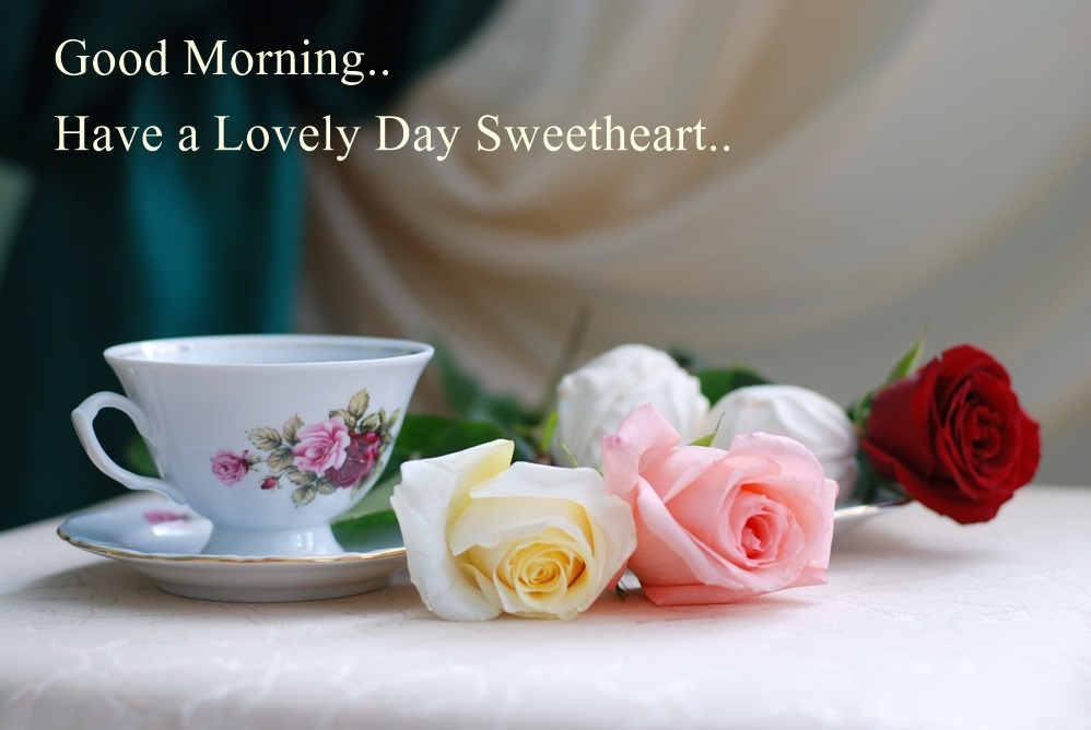 Wallpaper Good Morning My Love : Good Morning Love Pictures, Images and wallpapers