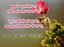 Good Morning wishes quotes in hindi
