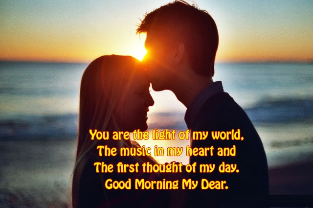 good morning wife quotes wishes and images